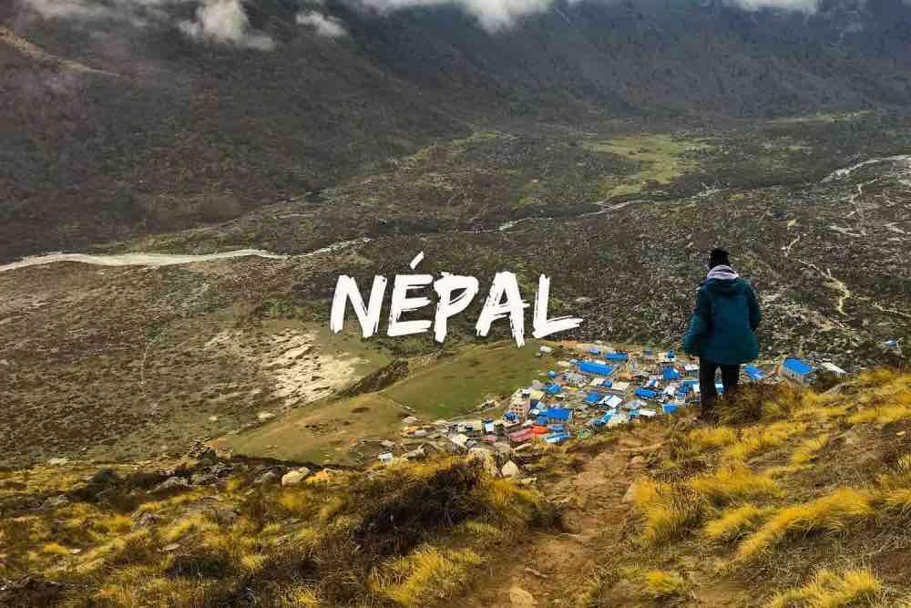 blog de voyage Népal